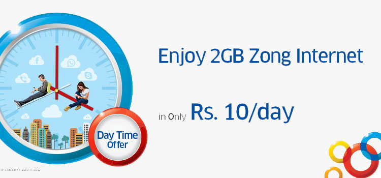 Zong-Day time offer.Brandsynario