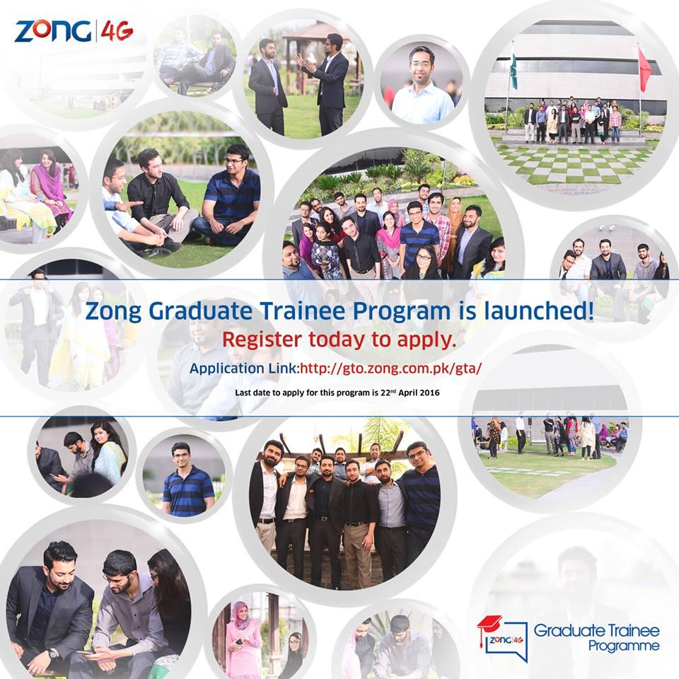 Zong Graduate Program 2016