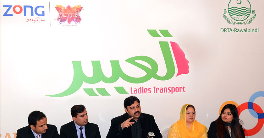 Zong Introduces Tabeer Van Service for Women in ISB & RWP