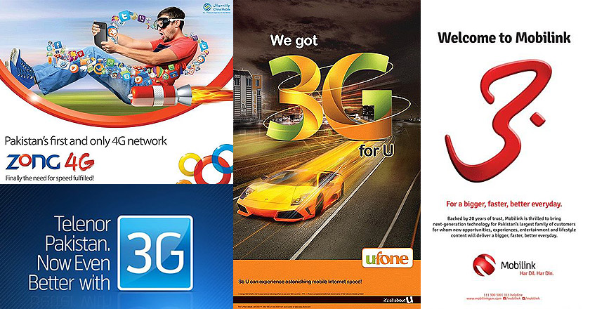 Zong, Ufone, Mobilink