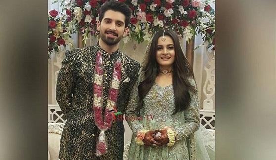 Sparks Toyota Service >> Aiman Khan & Muneeb Butt's Engagement Ceremony Pictures ...