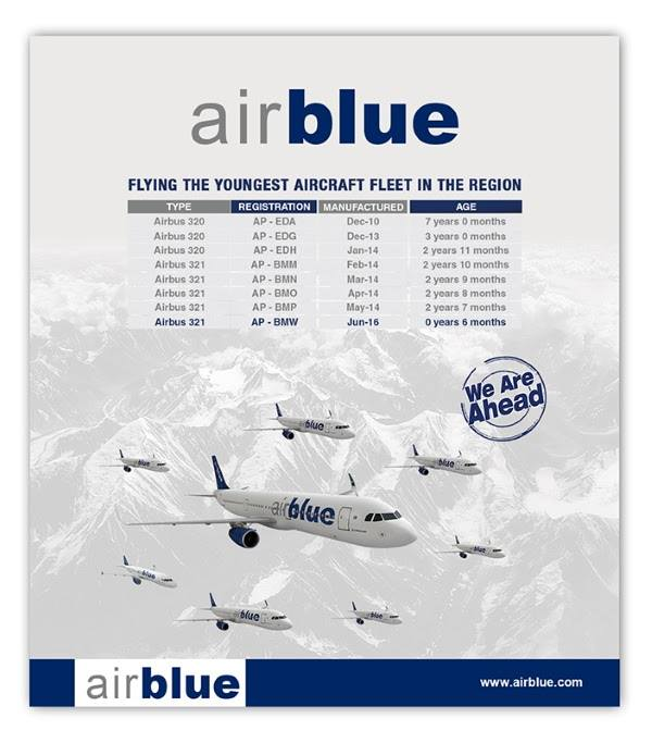 Take A Look At The Ad Posted On Airblue Website And Twitter Account