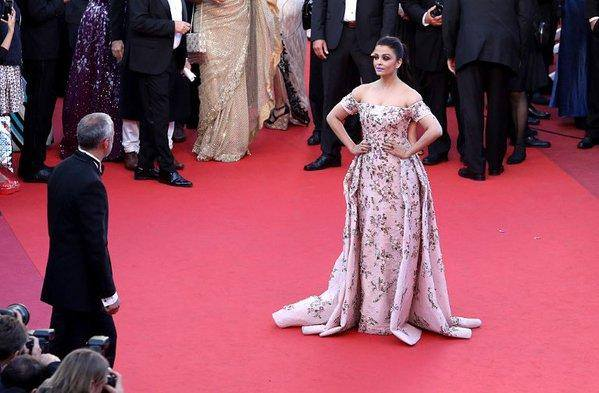 Aishwarya Rai Cannes Red Carpet day 2