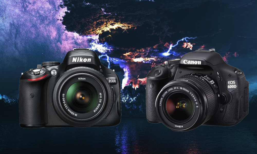 Nikon D5100 vs  Canon EOS 600D: Specs, Features, Price