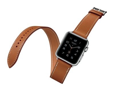 Apple Watch Hermes Double Tour Hero. Apple has been rated the 'coolest' wearables brand in a survey.