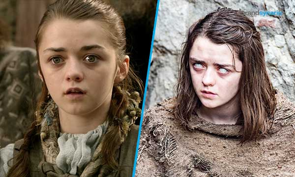 Arya Stark Season 1 - Now