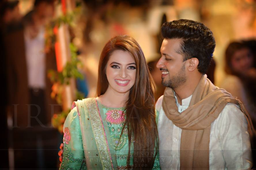 Atif Aslam Amp Wife S Sara Bharwana Latest Pictures Are