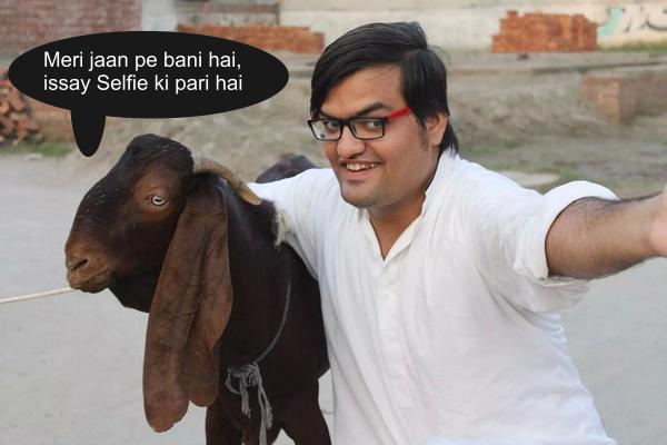 bakra selfie