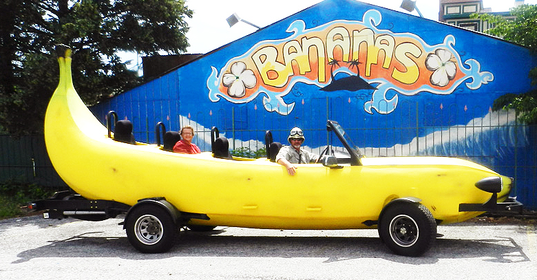 bananas car