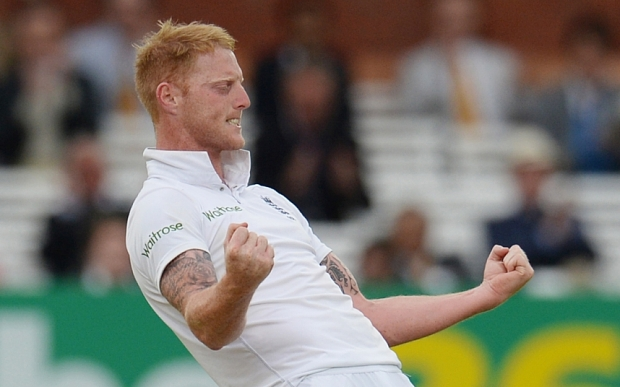 Cricket - England v New Zealand - Investec Test Series First Test - Lord's - 25/5/15 England's Ben Stokes celebrates after dismissing New Zealand's Mark Craig (not pictured) Action Images via Reuters / Philip Brown Livepic