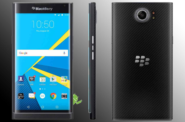Blackberry Priv - Android Smartphone Launched - Brandsynario