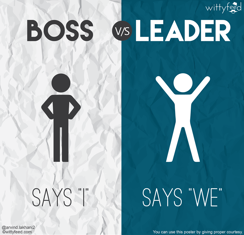 boss vs leader 1