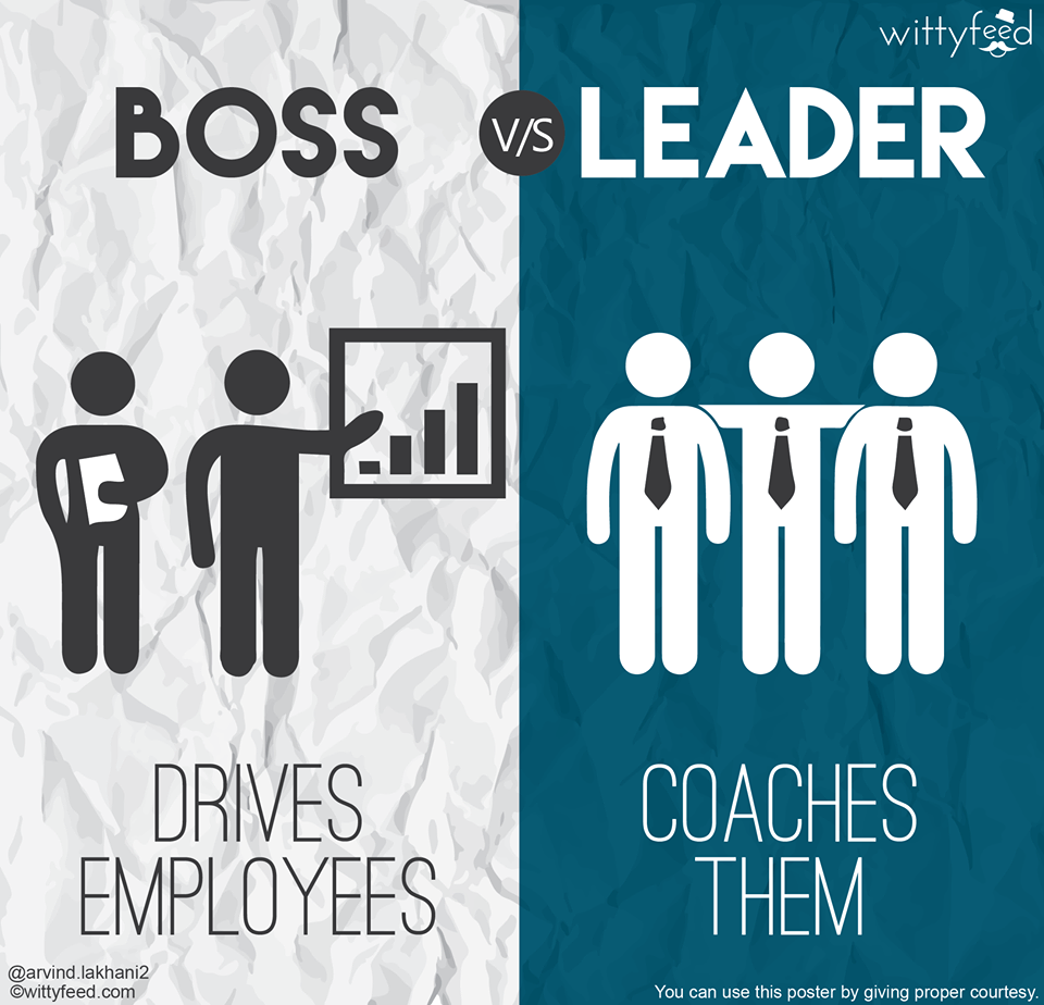 boss vs leader 7