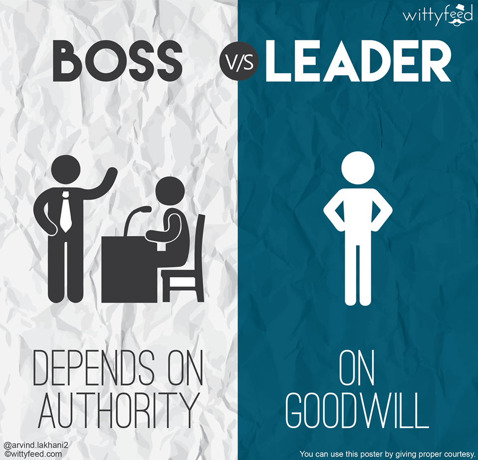 boss vs leader 8