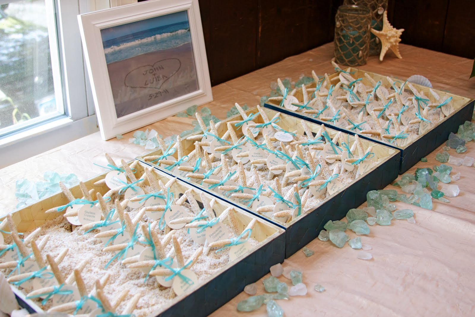 Nice Beach Themed Wedding Shower Ideas Component - The Wedding Ideas ...