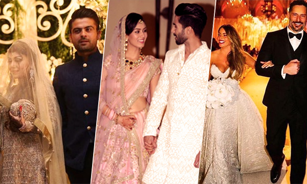 Top Celebrity Weddings Of The Year 2015