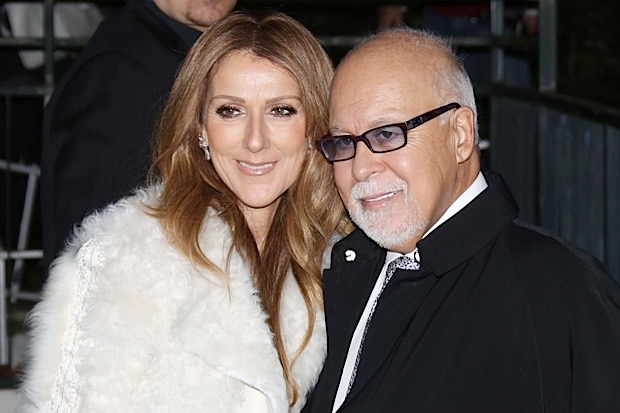 "51261944 Singer Celine Dion and her husband Rene Angelil arriving at the TV show ""Vivement Dimanche"" on November 13, 2013 in Paris, France. FameFlynet, Inc - Beverly Hills, CA, USA - +1 (818) 307-4813 RESTRICTIONS APPLY: USA ONLY"