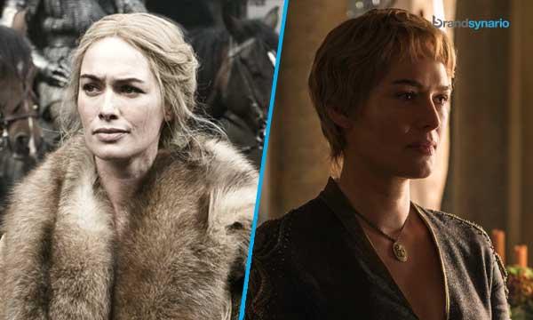 Cersei Lannister Season 1 - Now