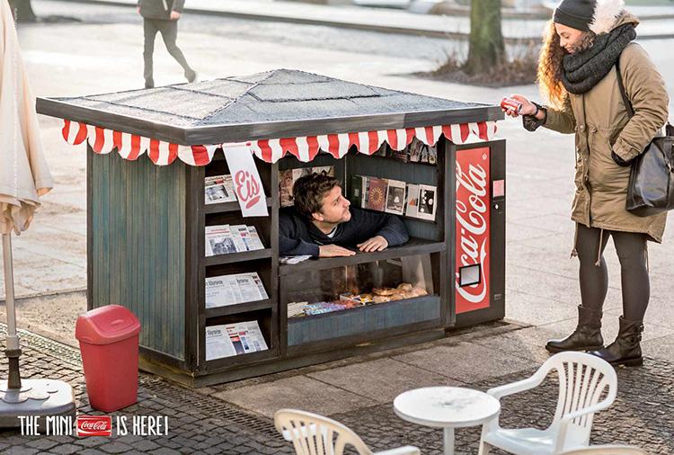 Coke mini kiosk