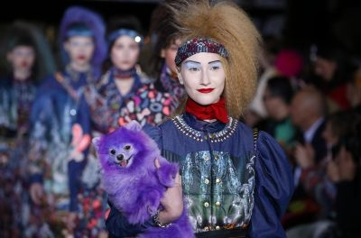 creations by Manish Arora during the 2016-2017 FallWinter ready-to-wear collection fashion show