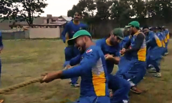 Pakistan cricket army training