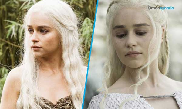 Daenerys Targaryen Season 1 - Now