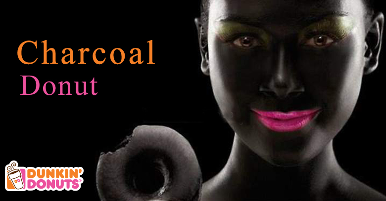 Dunkin Donut Under Attack For Charcoal Doughnut