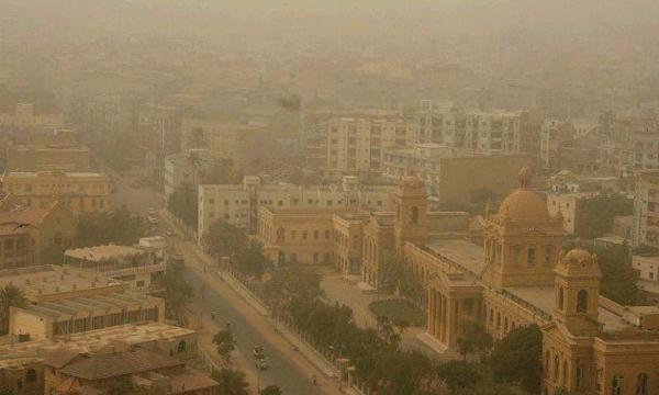 Dusty Weather Takes Over Karachi! - Brandsynario