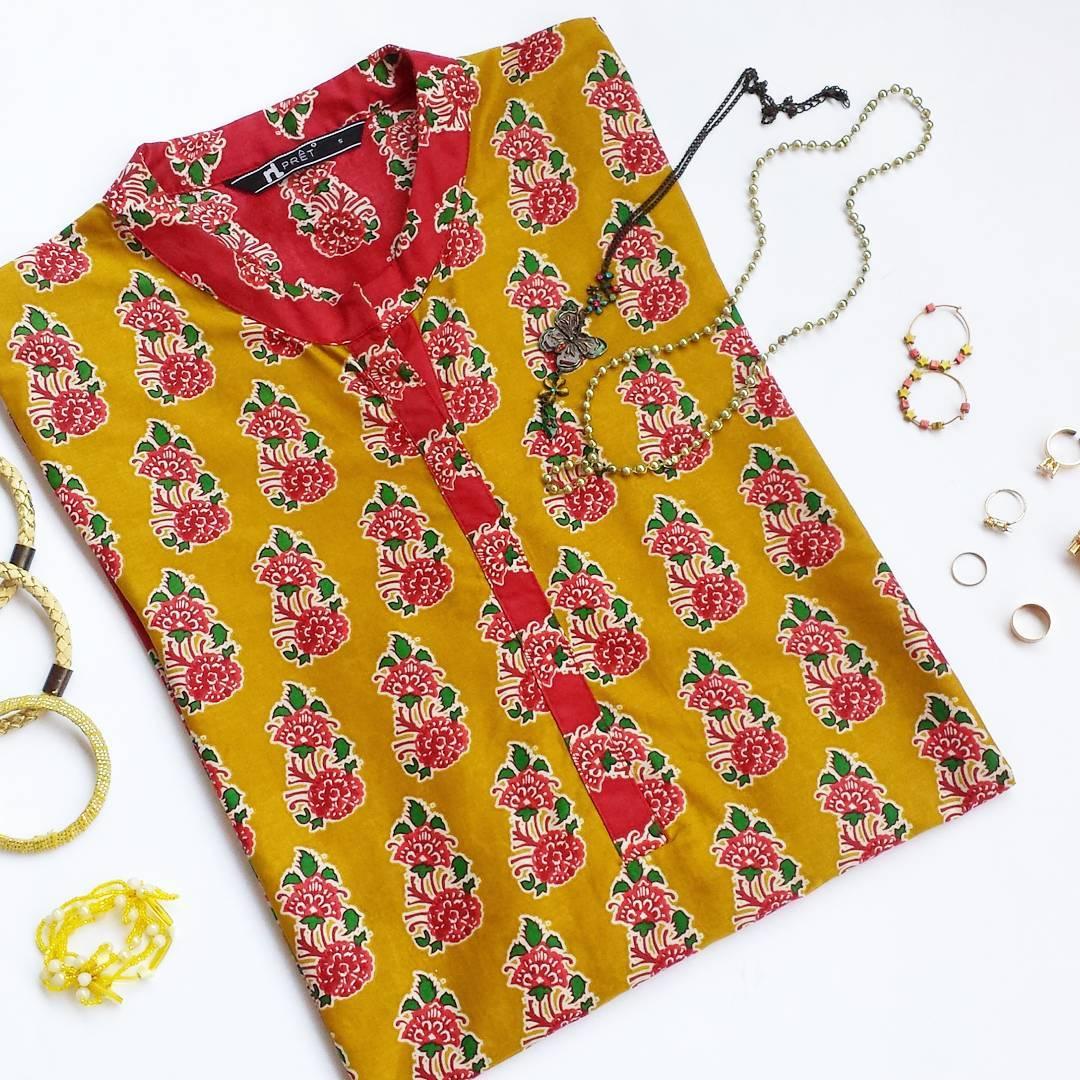 eid kurtis and accessories