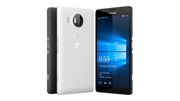 Microsoft Lumia 950 colors