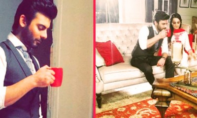 fawad-and-momal-in-Tapal-TVC