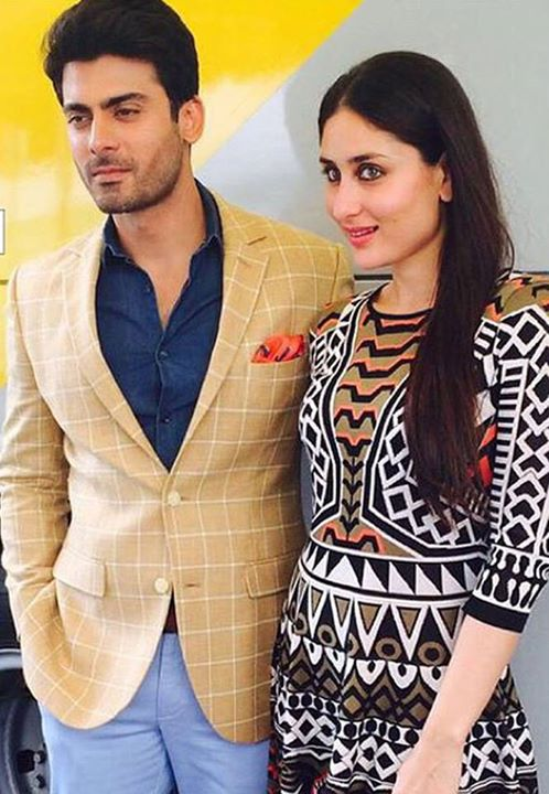 fawad khan spotted with Kareena Kapoor