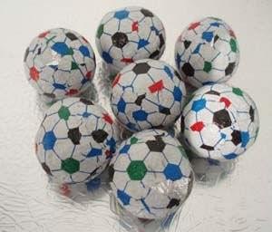 football chocolate