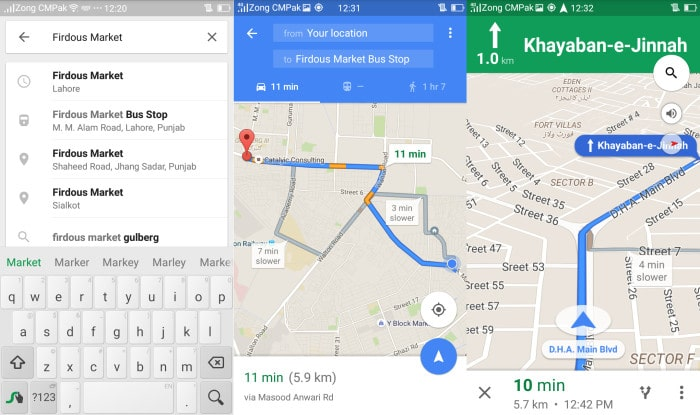 google-maps-introduce-turn-by-turn-navigation-in-pakistan