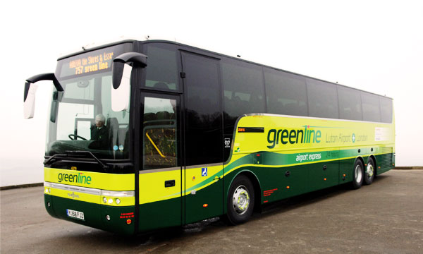 greenline bus service in karachi