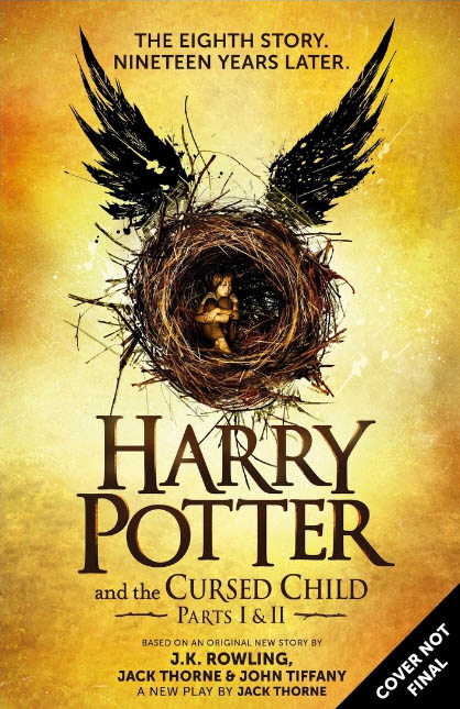 Scholastic to Publish Harry Potter and the Cursed Child Script Book in the U.S. and Canada (PRNewsFoto/Scholastic Corporation)