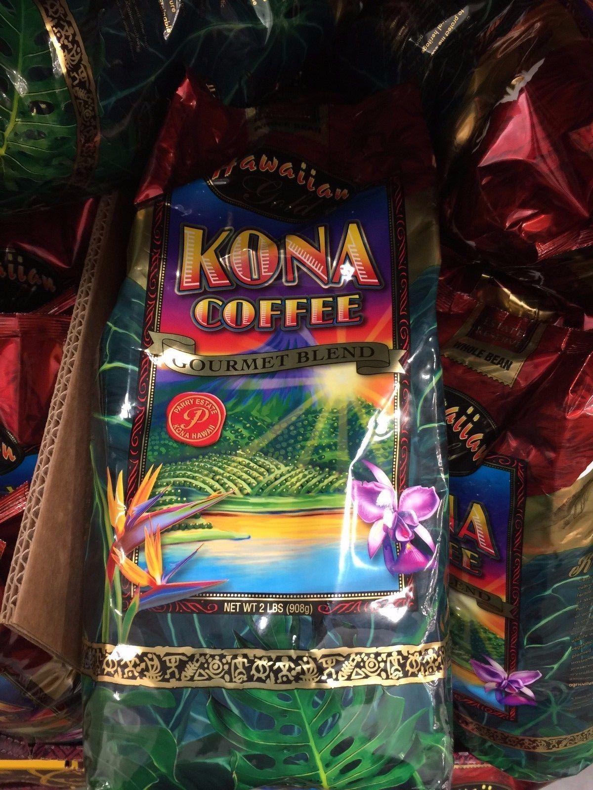 hawaiian-gold-kona-coffee-beans-gourmet-blend