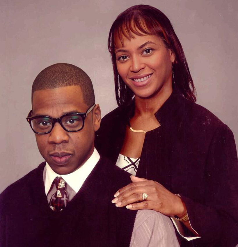 The Queen B - Beyonce With Her Rapper Husband, Jay-Z