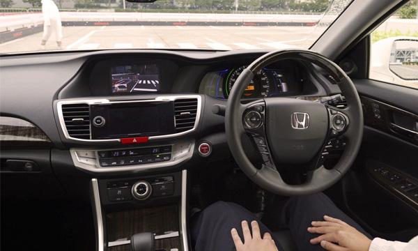 honda-self-driving-car