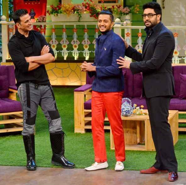 housefull 3 cast on kapil's show