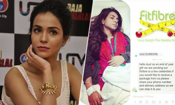 Humaima Malik Slams Dietary Supplement Brand for her Sister Dua ...