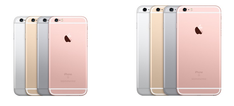 iPhone 6S and 6S Plus Colors