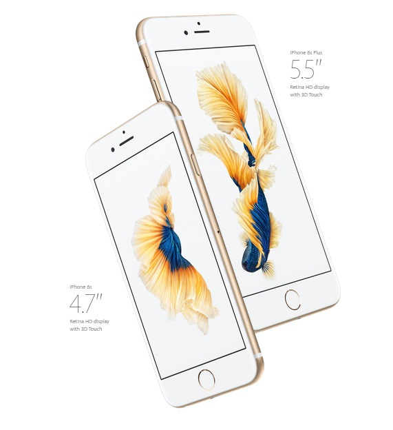 iPhone 6S and 6S Plus Display