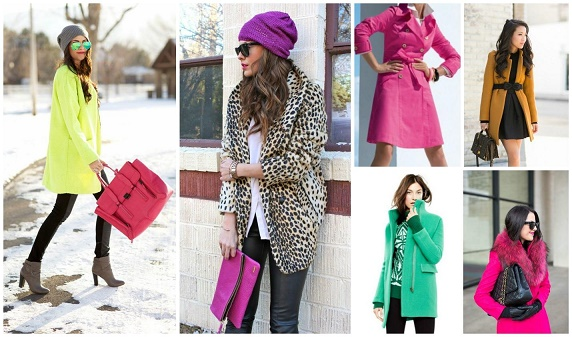 colorful winter outifts
