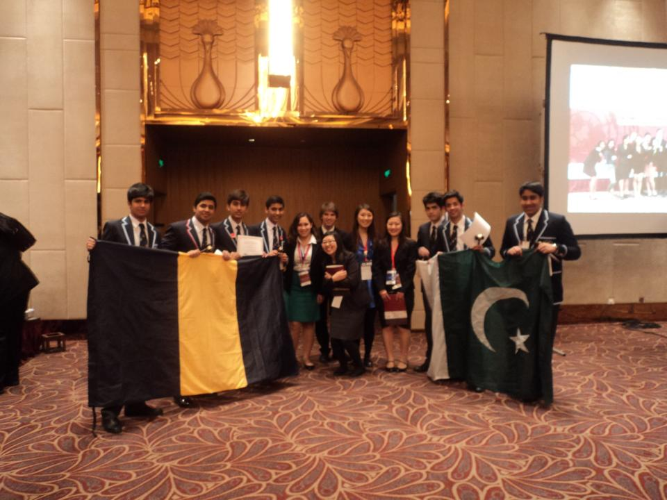 Aitchison College Wins Harvard Mun in China