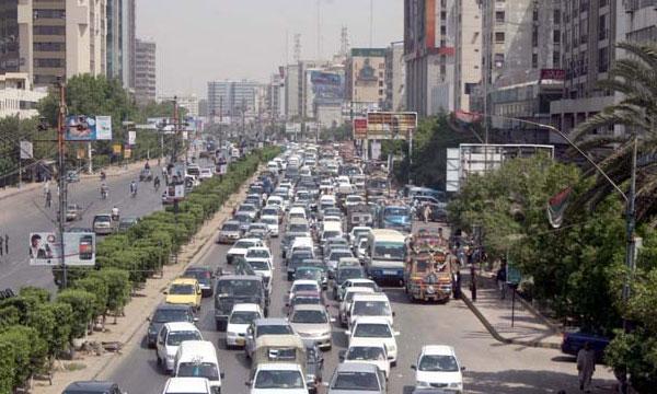 Karachi Traffic Update