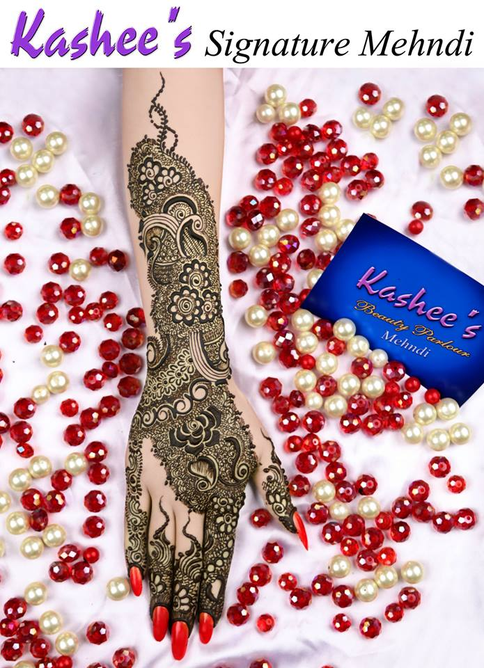 Henna for Wedding Kashees Simple Mehndi Designs 2017