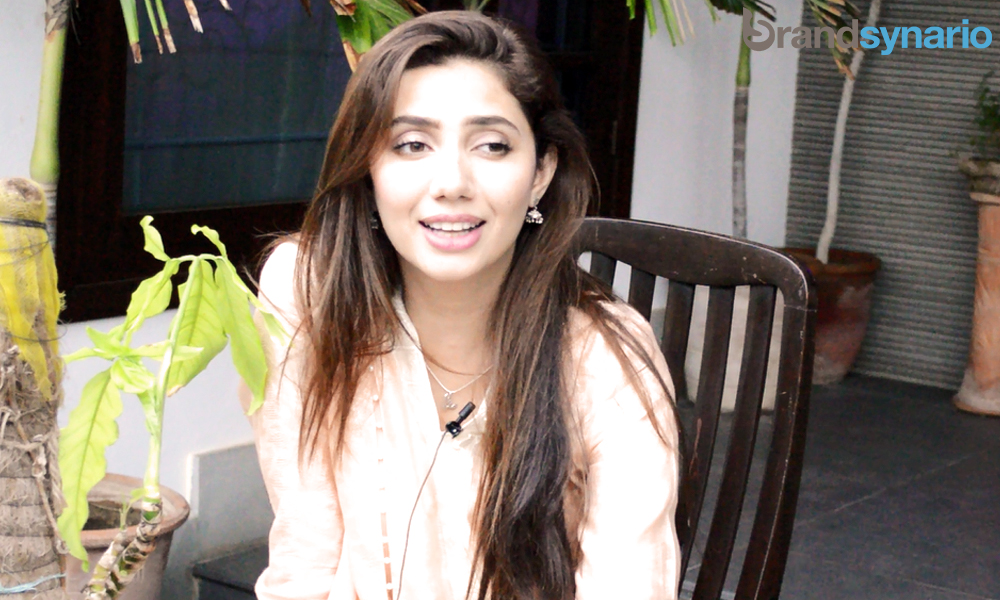 mahira-khan exclusive interviewer with Brandsynario.com