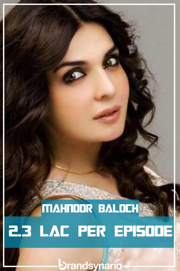 mahnoor-baloch paycheck per episode