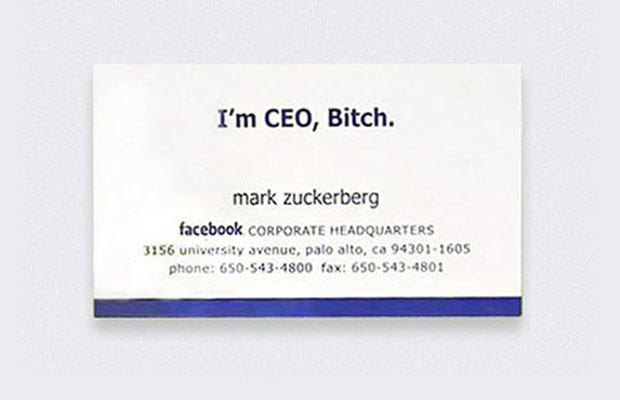 10 famous people their first business cards brandsynario this is the signature statement imprinted on mark zuckerbergs business card its simplistic yet an accurate depiction of a young power enthusiast who colourmoves